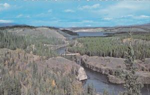 WHITEHORSE, Yukon, Canada, PU-1971; Yukon River, Miles Canyon, Schwatka Lake