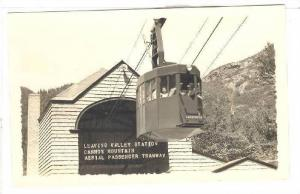 RP; Leaving Valley Station, Cannon Mountain, Aerial Passengers Tramway, New H...