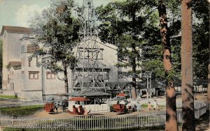 LP02   Meyers Lake Canton Ohio Postcard Theatre Amusement Park