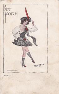 A Hot Scotch , Girl , 1905