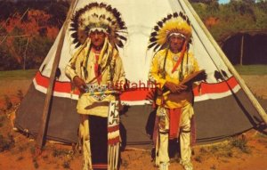 KIOWA CHIEFS - CHIEF WHITE CLOUD and his brother CHIEF SWIMMING BEAR