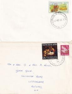 Lincoln Agriculture College New Zealand 2x Frank Postmark s
