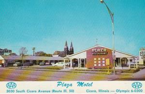 Illinois Cicero The Plaza Motel & Restaurant