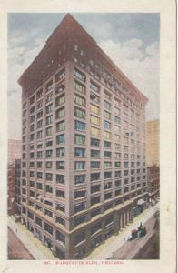 CHICAGO , Illinois , PU-1910 ; Marquette Building