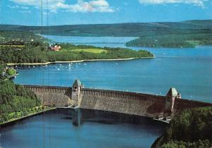 Moehnesee Kr Soest Westfalen Lake General view 1970
