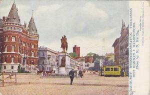 Radhuset, Stenbocksstatyn, Terrassen Och Karnan I Halsingborg, Sweden, 1900-1...