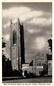 Tennessee Nashville Belle H Bennett Memorial Scarritt College