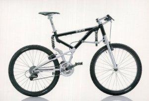 BMW Super Tech German 1997 Bicycle Bike Cycle Postcard