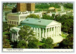 Virginia State Capitol Richmond Virginia Vintage Postcard Continental View Card