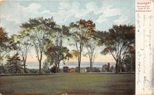 Ossining New York~Front Lawn of Dr Holbrook School~1908 Postcard