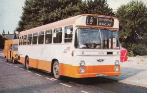 Number 16 Bus To Rochdale & Bacup Bus Postcard