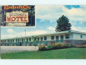 Unused 1950's HILLCREST MOTEL Vernon - Utica New York NY u3999-12