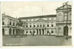 Netherlands, Den Haag, Koninklijk Paleis, 1934 used RPPC