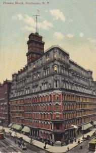 Powers Block, Rochester, New York, PU-1916