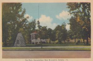 CAMPBELLTON , New Brunswick , Canada , 1930s ; The Park