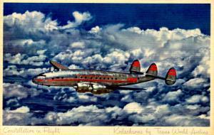 TWA - Constellation in Flight