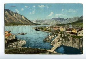 158103 Montenegro Kotor CATTARO Vintage RPPC postcard
