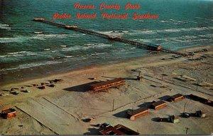 Texas Padre Island Nueces County Park Bob Hall Pier