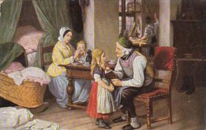 F E Meyerheim Grossvaters Liebling Grandfather's Darling 1908