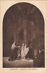 Simeon In Den Tempel Rembrandt Museum Den Haag