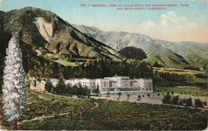 Postcard Arrowhead Hot Springs Hotel San Bernardino California