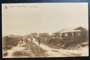Mint French Congo Real Picture Postcard RPPC Pointe Noire Factories