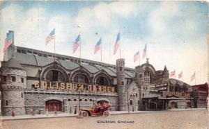 CHICAGO ILLINOIS COLISEUM POSTCARD 1912