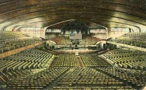 NJ - Ocean Grove. Interior of Auditorium