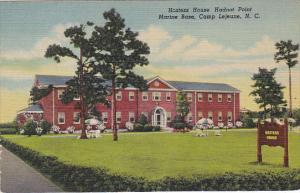 Hostess House Hadnot Point Marine Base Camp Lejeune North Carolina 1952