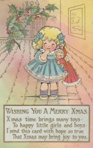 AS: M.G. HAYS ; Wishing You a Merry X-mas , 1908