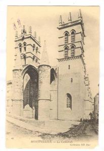 Exterior, La Cathedrale, Montpellier (Hérault), France, 1900-1910s