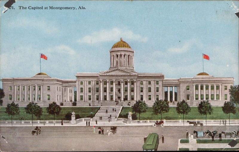 Capitol of Montgomerey Alabama