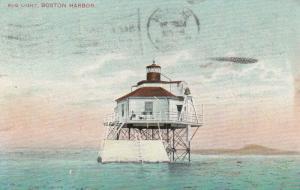 BOSTON, Massachusetts, 1908 ; Bug Lighthouse