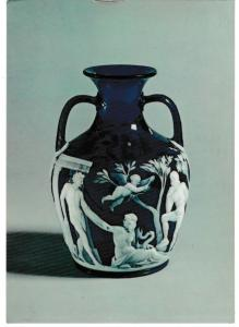 Post Card The Corning Museum of Glass The Northwood-Portland Vase