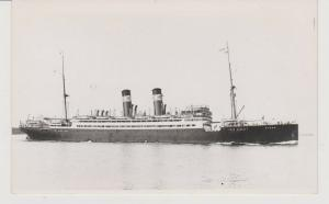 FERRY BOAT STEAMSHIP BYRON REAL PHOTO, BY STEAMSHIP HISTORICAL SOCIETY,  NYC