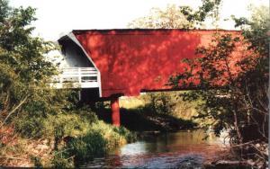 Cedar Covered Bridge - North of Winterset, Iowa
