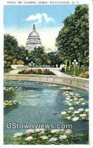 Vista of Capitol Dome, District Of Columbia