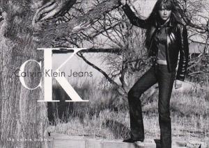 Advertising Calvin Klein Jeans The Calvin Bootcut 2001