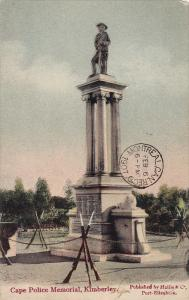 Cape Police Memorial , KIMBERLEY , South Africa , PU-1907
