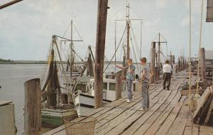 BRUNSWICK, Georgia, 1940-60s; Part of Shrimp and Crab Fleet (boats)