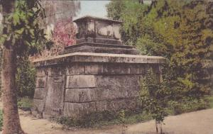 The Mausoleum Middleton Place Gardens Charleston South Carolina Handcolored A...