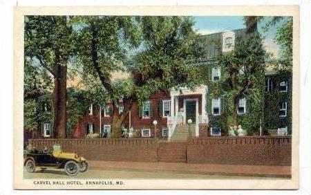 Carvel Hall Hotel, Annapolis, Maryland, 1900-1910s