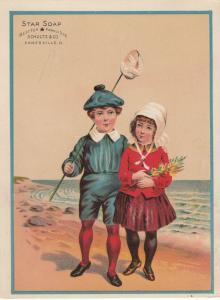 TC: Star Soap , 1900-10s; Schultz & Co. , ZANESVILLE, Ohio # 4