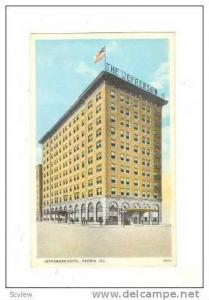 Jefferson Hotel, Peoria, Illinois, 1910-20s