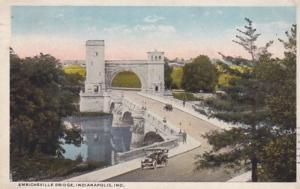 Indiana Indianapolis Emrichsville Bridge 1919