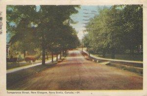 NEW GLASGOW, Nova Scotia , Canada , 1947 ; Temperance Street