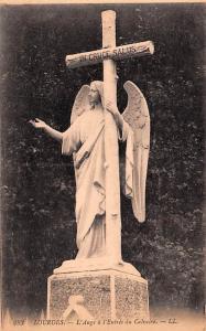 Lourdes France L'Ange a l'Entrée du Calvaire Lourdes L'Ange a l'Entrée du C...