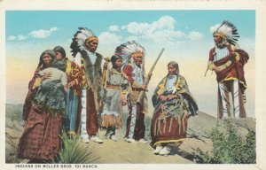 BLISS , Oklahoma , 1900-10s ; Indians , 101 Ranch