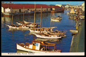 Waterfront Scene- Nassau, Bahamas