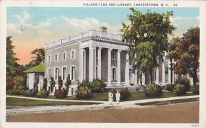 Village Club & Library , COOPERSTOWN , New York , 00-10s